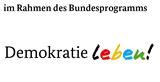 Logo Bundesprogramm: Demokratie leben