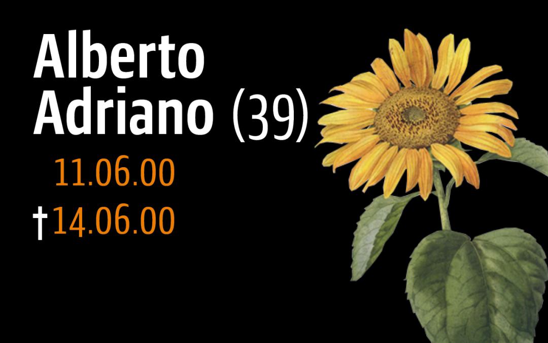 Audiofeature, Webinar und Gedenkaktivitäten anläßlich des 20. Jahrestages der Ermordung Alberto Adrianos am 11.06.2020