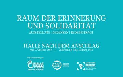 Erinnerung und Solidarität am Jahrestag des Anschlags in Halle (Saale)