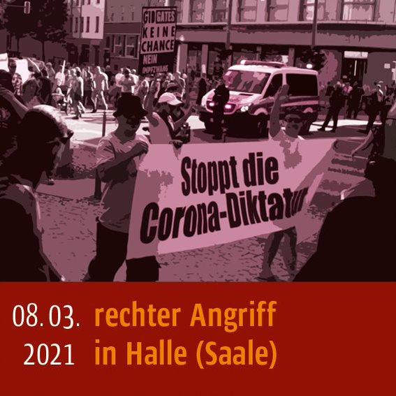 08.03.2021 Halle (Saale)