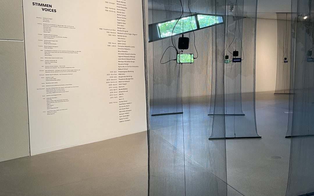 """AUSSTELLUNG: """"The Violence We Have Witnessed Carries a Weight on Our Hearts"""""""